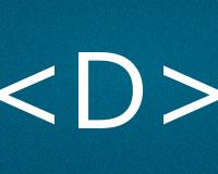 Коды буквы D