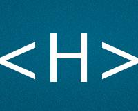 Коды буквы H