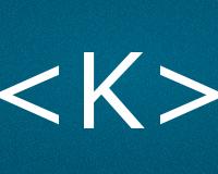 Коды буквы K