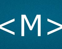 Коды буквы M