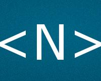Коды буквы N