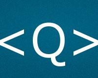 Коды буквы Q