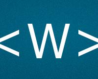 Коды буквы W