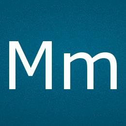 Буква M - UTF-8 коды