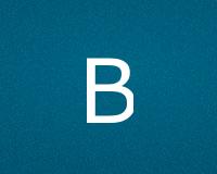 Буквы B для ников