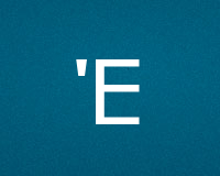 Буквы E для ников
