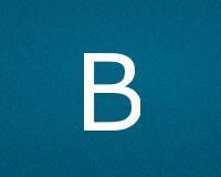 Трафареты буквы B
