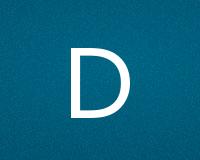 Трафареты буквы D