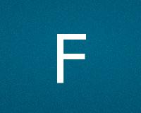 Трафареты буквы F
