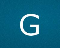 Трафареты буквы G