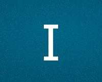 Трафареты буквы I
