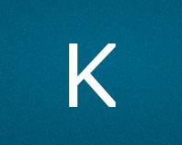 Трафареты буквы K