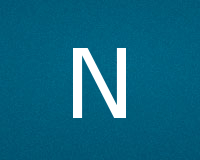 Трафареты буквы N