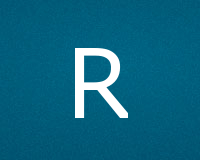 Трафареты буквы R