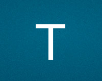 Трафареты буквы T