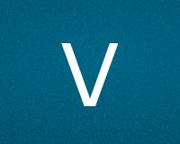 Трафареты буквы V