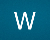 Трафареты буквы W