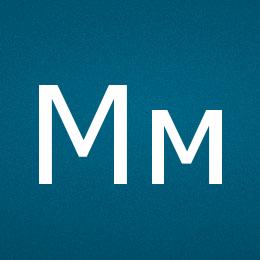 Буква М - UTF-8 коды