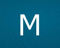 Трафареты буквы М