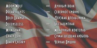 Имена на английском с переводом для девушек