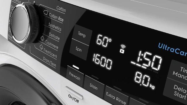 Значки стиральная машина Electrolux